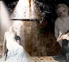 She Talks to Angels... by Karen  Helgesen