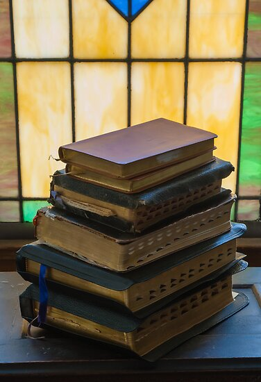 Family Bibles by Dennis Reagan
