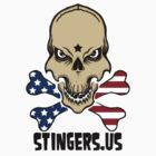 Stingers Stars and Stripes  by ARTmuffin