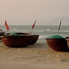 Vietnamese fishing boats by supergold