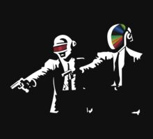 Daft Punk Pulp Fiction by PFostCSY