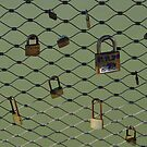 LOVE LOCKS PARIS by Dcoomber