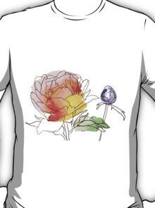 peony flowers T-Shirt