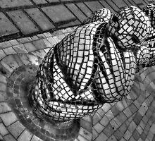 Mosaic Figure - Saint Petersburg - Russia by Bamski
