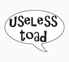 Insults Collection: Useless Toad by BethXP