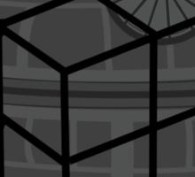 Deathstar Cubed Sticker