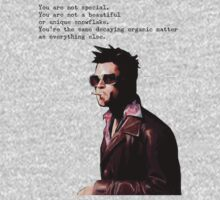 Tyler Durden - You are not unique. by audhumbla