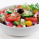 Bowl of Greek Salad by psctran