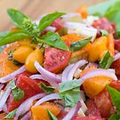 Basil & Heirloom Tomato Salad by psctran