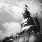 Buddha Up In The Clouds - Lomo by Yao Liang Chua