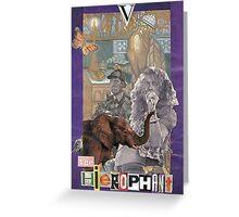 The Hierophantot Greeting Card
