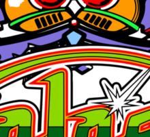 Galaga Sticker