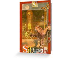 Strengthot Greeting Card