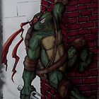 No wall flower Raphael  by pinkyranger
