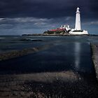 Saint Mary's Lighthouse by Harry Purves