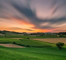 Summer evening by Peter Zajfrid