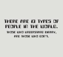There Are 10 Types Of People by BrightDesign