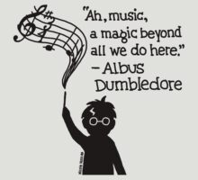 Harry Potter Music Design by kittysnake