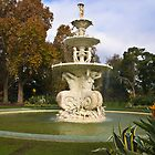 Fountain in Carlton Gardens Melbourne Victoria by PhotoJoJo