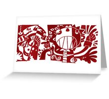 Internal Review Greeting Card
