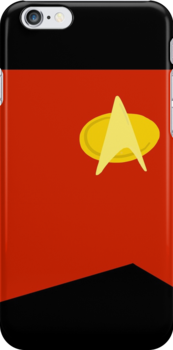 TNG Command Red Uniform by Nicholas Fontaine