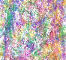 Rainbow Splatter by Malinahona