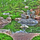 Japanese Garden Reflections by shutterbug2010