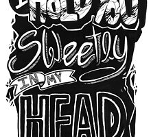 I hold you sweetly in my head by keziah hearne