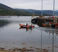 Ullapool harbour by kalaryder