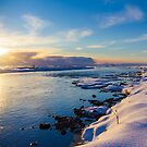 Winter Sunset by Silken Photography