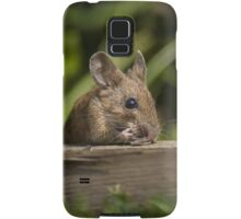 Field Mouse Eating Samsung Galaxy Case/Skin