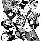 Panda Mix - White by Adamzworld