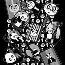 Panda Mix - Black by Adamzworld