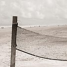 Beach Volleyball Net by Cora Niele