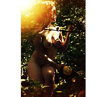 Girl of the Forest Photographic Print