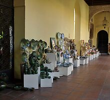 Pottery opposite the Mosque. by Janone