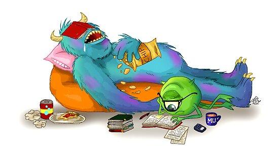 Monsters University by Lauren Draghetti