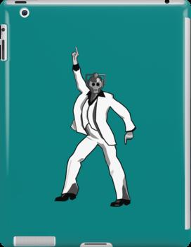 Saturday Night Cyberman by wilynsical