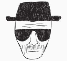 Heisenberg drawing by TP79