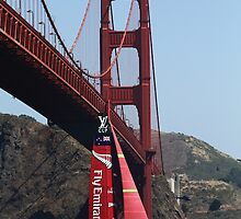 Golden Gate Welcome by fototaker