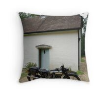 Brough Superior SS 100 at Clouds Hill Throw Pillow