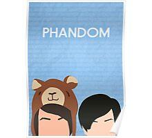 Phandom Poster (Blue) Poster