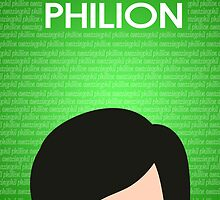 Philion Poster by EricaCookies