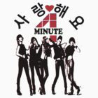 ???SaRangHaeYo(Love) Hot Fabulous K-Pop Girl Group-4Minute Clothing & Stickers??? by Fantabulous