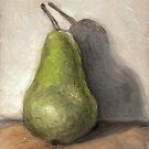 Pear in Oils by Gabrielle Boucher