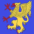 Griffin Rampant Or by RHFay