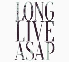 LONG LIVE A$AP. by Studio Ronin