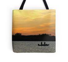 Gone Fishin' Tote Bag