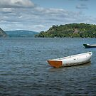 Boats On Hudson River by JHRphotoART