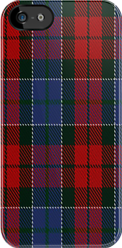 00022 John Patterson Clan/Family Tartan Fabric Print Iphone Case by Detnecs2013
